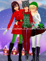 {MMD XMAS GIFT DL: KNX} MERRY CHRISTMAS! :2015: by SanctuarysEmbrace
