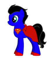 My Little Pony: Superman by MrAngryDog