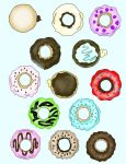 Donuts by Psyche-of-the-World