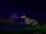 Midnight chase by Kawppa