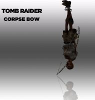 TOMB RAIDER: Corpse bow by doppelstuff
