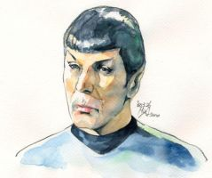 Mr. Spock by Emushi