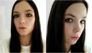 Alice Madness makeup test by Izzybella4