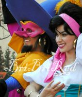 Esmeralda and Clopin by BriBriRed