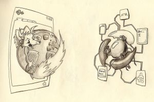 Firefox Vs GoogleChrome by crazyrems
