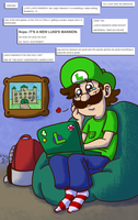 They Really DO Love Weegee~! by Nintendo-Nut1