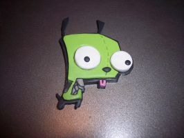 Gir Polymer Clay Charm by narutard45671
