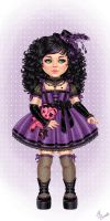 Little Goth by dimary