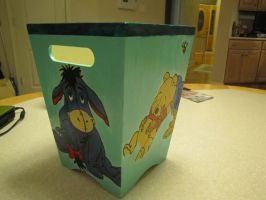 Winnie the Pooh wastebasket by DreamBig20761