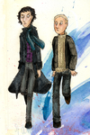 Sherlock and John by Starlene