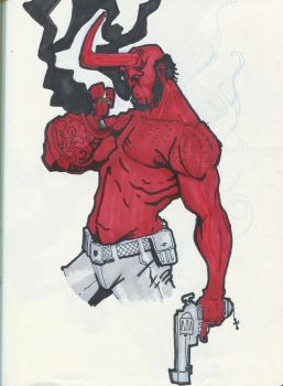 Hellboy by ChesterCobblepot