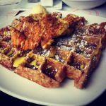 Chicken Cutlet with a gingerbread waffle by HappyArequipe