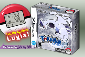 Pokemon SoulSilver:English box by princeofpixels