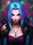 Jinx (LOL) by AyyaSAP