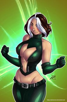 Rogue Cosplay by DarkerEve