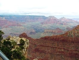 Grand Canyon South Rim2 by Trisaw1