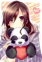 Panda Love by Aecclesia