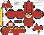JLATV: The Flash Cubee by TheFlyingDachshund
