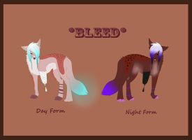 Bleed Full Form Refrence Sheet by Late-Night-Cannibals