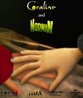 Coraline and Norman Ideal Movie Poster by cureator