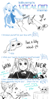 Vocaloid meme by Kuro-Puppy