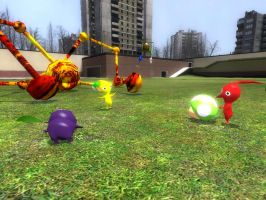 Gmod pikmin Picture 7 by ryanfrogger