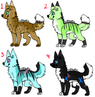 Canine Adopts: CLOSED by Uchi-Adopts