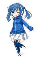 VOCALOID.Kagerou Project : Chibi Ene by Nishi-me24