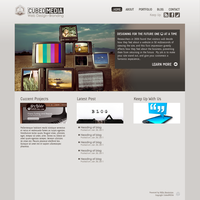 Personal Website by CubedMEDIA