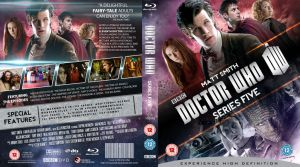 DOCTOR WHO SERIES 5 BLU-RAY COVER by MrPacinoHead