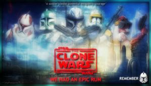 Clone Wars Poster by F1yingPinapp1e