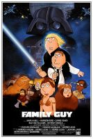 Family Guy_Star Wars Poster by SpentaMainyu