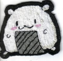 Cross-stitch: Cute Origiri by metalxupxyourxass