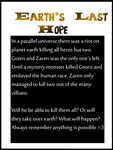 Earth's Last Hope(Quick Summary) by MrEpicDrawer