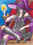 Witch ATC by death-g-reaper