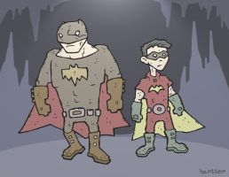 Batman and Robin by Hartter