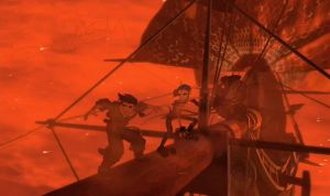Treasure Planet - Who dat? by hannahspangler