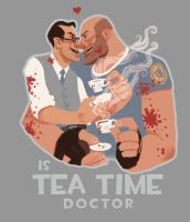 Is Tea Time by TimeLordEnglish