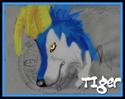 Tiger- Monster Rancher FA by Syberwolf