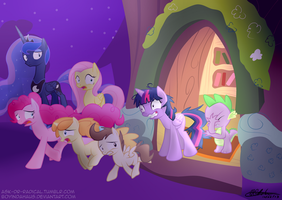 Nightmare Night, Too Much A Fright by boyindahaus