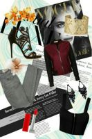 Fall fashion collage by jeanicebartzen27