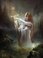 Albions Legacy Lady of the lake by HELMUTTT