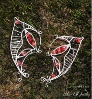 Butterfly Elf Ears by Lyriel-MoonShadow