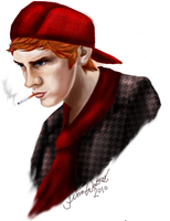 Holden Caulfield by Oranjes