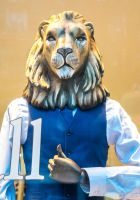 This Lion means Business by deepgrounduk
