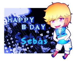 Etesia - Happy B-Day Sebas! by YakumoKaiba