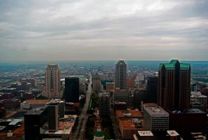 St. Louis Skyline by psimpson1