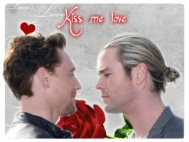 Kiss me love - Hiddlesworth by BeccaMalory