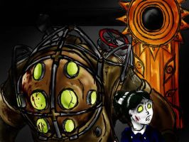 Bioshock Homage by evill33tchaos
