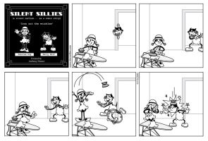 Silent Sillies 163 - Iron out the Wrinkles by JK-Antwon